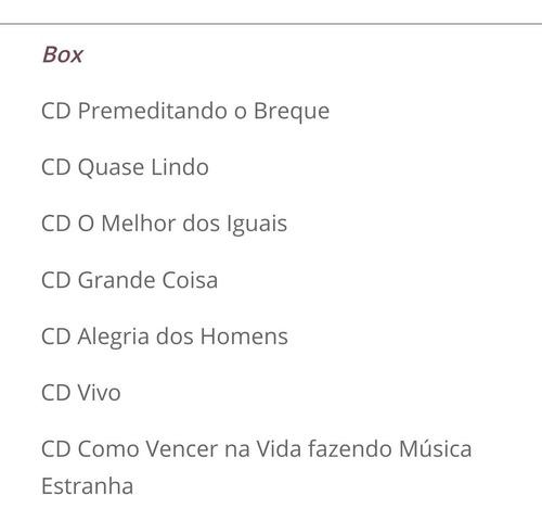 premê box set cd - premeditando breque 7 cds