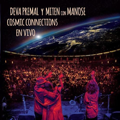 premal deva miten manose cosmic connections en vivo cd nuevo