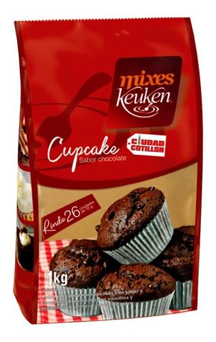 premezcla para preparar cupcake sabor chocolate keuken 1 kg