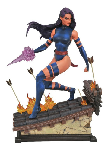 premier collection statues - marvel - psylocke