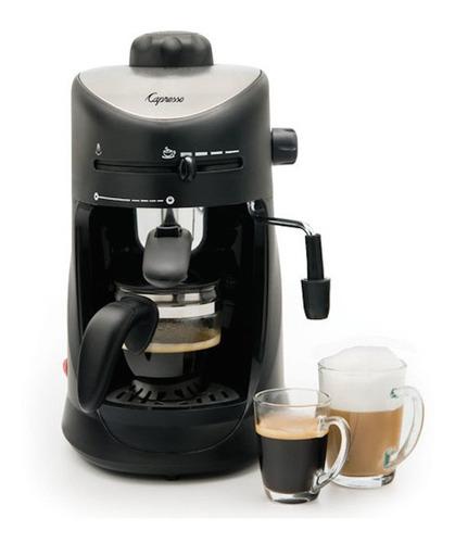 premium 4\xa0copa espresso & cappuccino machine, acabado e