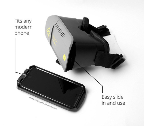 premium calidad virtual reality gafas auricul + envio gratis
