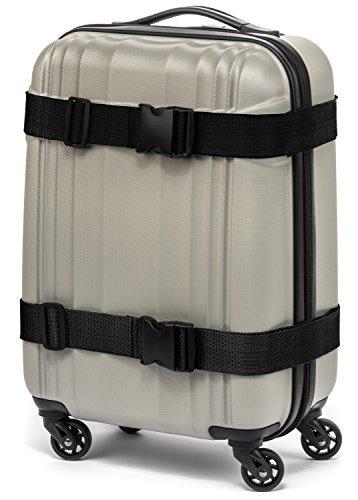 premium color brillante equipaje correas 2 pk extra larga pa