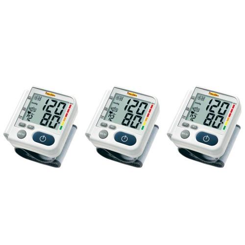 premium lp200 aparelho pressão pulso digital (kit c/03)