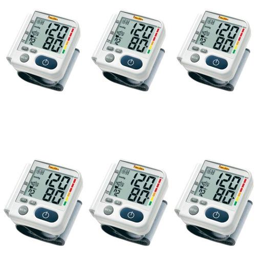 premium lp200 aparelho pressão pulso digital (kit c/06)