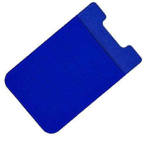 premium lycra teléfono celular titular de la tarjeta adhesiv