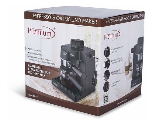 premium pem350 espresso cappuccino - máquina de café para