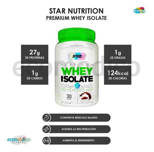 premium whey isolate 2 lb star nutrition promo x 3 + vaso