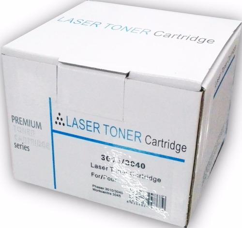 premium xerox-phaser 3010 / 3040 negro cartucho de toner oem