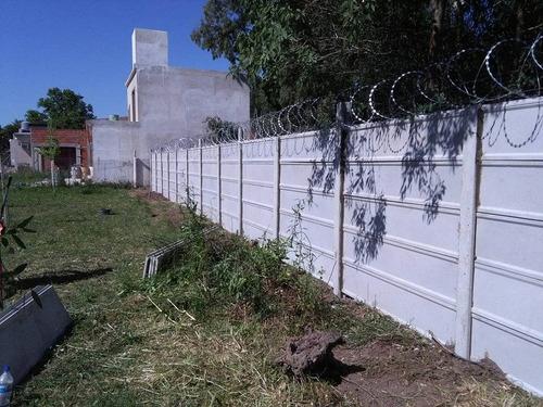 premoldeados de hormigom planchas muros tapias medianeras