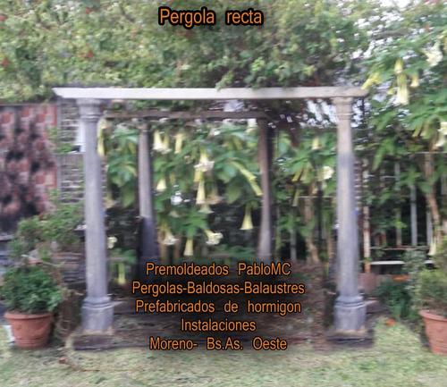 premoldeados de hormigon para ambientar parques y jardines