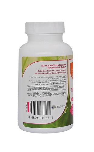 prenatal y multivitaminas con ácido fólico y hierro 60 caps.