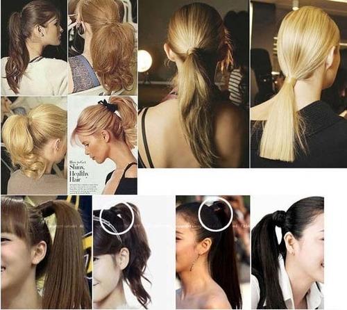 prendedor de cabelos imitação de cabelos super natural