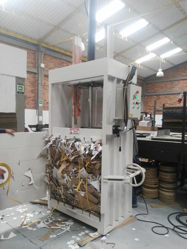 prensa compactadora embaladora maquina hidráulica reciclaje.