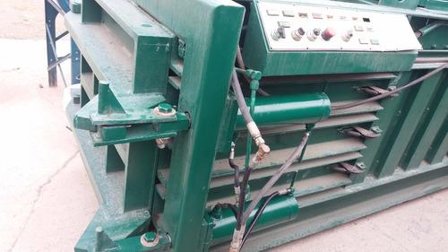 prensa compactadora horizontal 40hp metales blandos aluminio