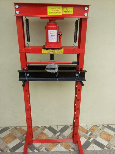 prensa de 20toneladas hidraulica reforzada marca century