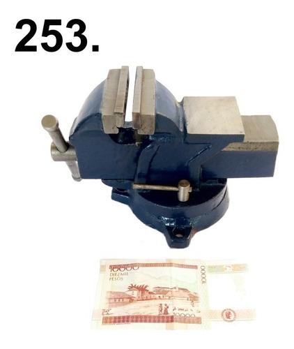 prensa de 3  banco giratoria 360°  con yunque envío $1