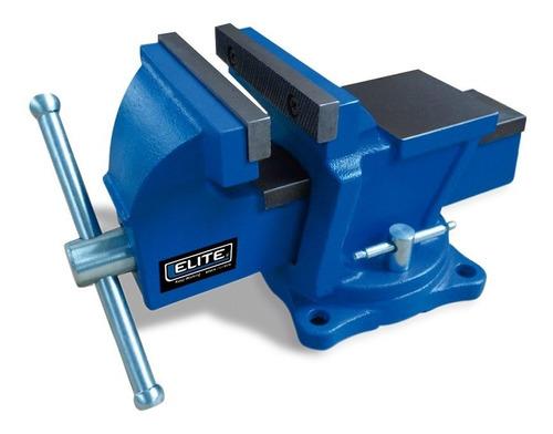 prensa de banco elite bv04 de 4 para carpintería y talleres