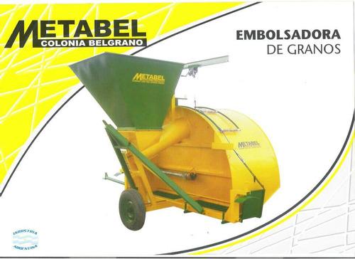 prensa embolsadora de granos para bolsas 9 pies metabel