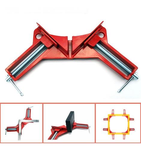 prensa esquinera ángulo a 45 grados para carpintero 7.9 cms