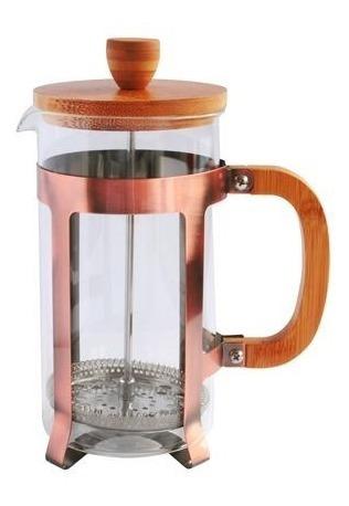 prensa francesa de 1 litro cafetera cobre cafe baristas