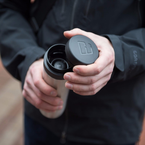 prensa francesa de viaje cafetera 350 ml negra *envio gratis