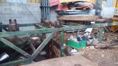 prensa gigante! 300 toneladas 0hs de uso reparada a nuevo!