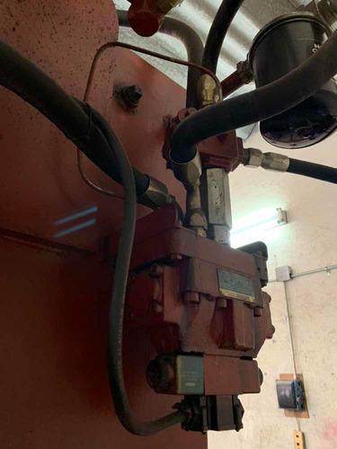 prensa hidráulica 180 toneladas con colchón neumático