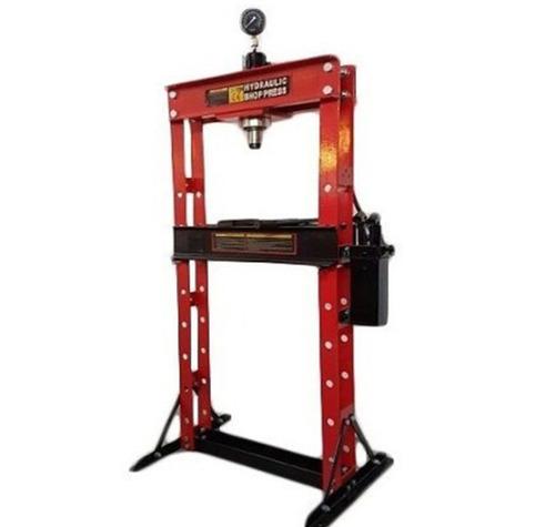 prensa hidraúlica 30 toneladas con manómetro trabajo pesado