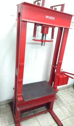 prensa hidráulica 40 toneladas manual 4 columnas daniluk