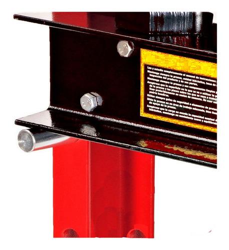prensa hidraulica 40 toneladas trabajo pesado con manometro
