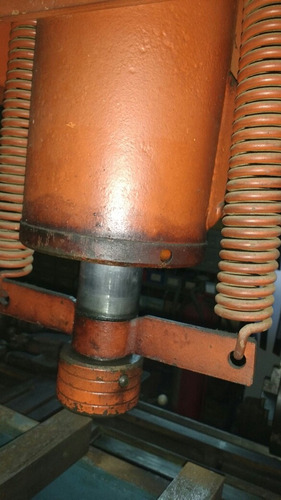 prensa hidraulica 60 toneladas doble accion como nueva