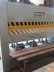 prensa hidraulica caliente marzica para carpinteria
