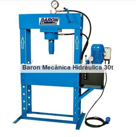 prensa hidráulica elétrica para 30 toneladas pistão