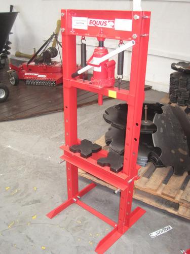 prensa hidraulica equus 12 toneladas marco  h