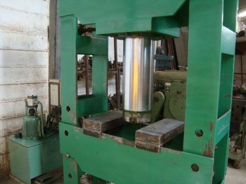 prensa hidráulica h 200 ton. elétrica pistão curso 560 mm
