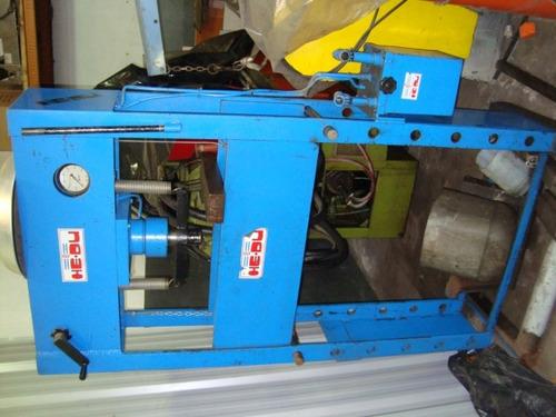 prensa hidraulica manual he-du 50tn baja-alta excelente
