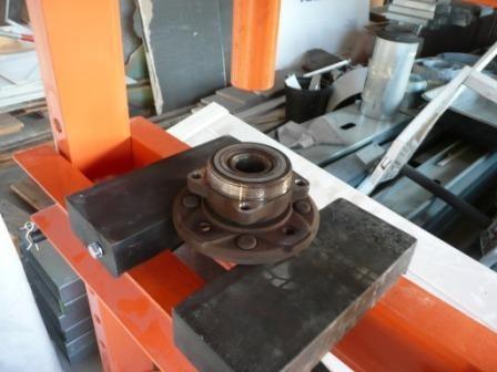 prensa hidraulica para taller de 12 tn gamma c/ 2 años gtia.