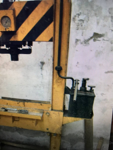 prensa hidraulica taller 60 toneladas doble bomba,envios