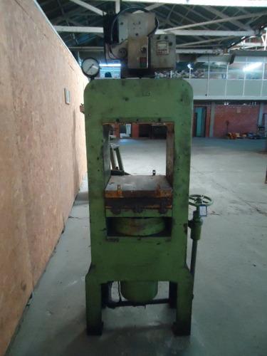prensa hidraulica térmica p/ borracha plato 400x400  4259