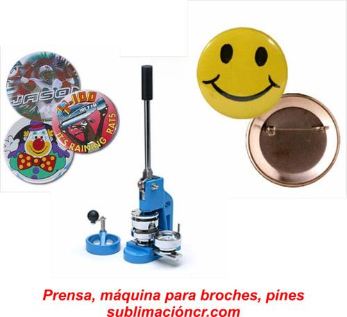 prensa, máquina para hacer broches, pines