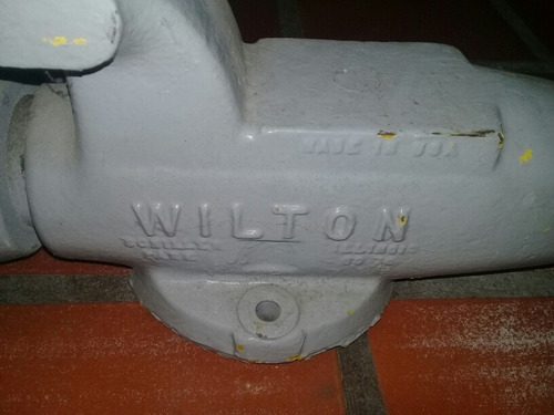 prensa marca wilton de 8 pulgada peso aproximado 35 kilo