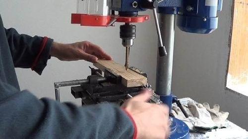 prensa morsa 4 para soporte de taladro cortadora mordaza