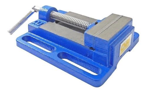 prensa morsa plana para banco 100 mm abre 110 mm obi