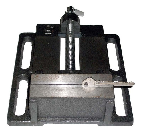 prensa plana tipo morsa de 4  para taladro, mesa de trabajo