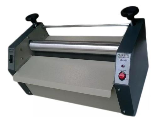 prensa rotativa adesivadora pr-400 bivolt - mr máquinas