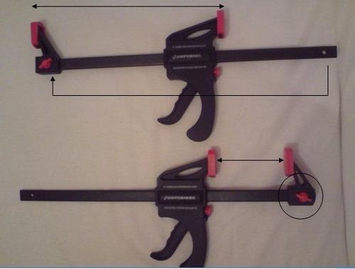 prensa sargento 10 pulgadas  accion rapida clamp/spreaders