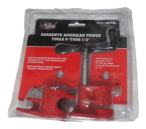 prensa / sargento para madera de tubo 1/2 american tools