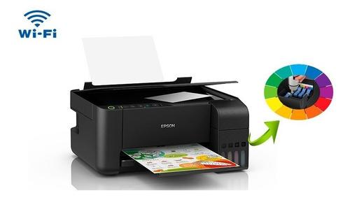 prensa termica 10 em 1 a3 a4 + impressora epson l3150 220v