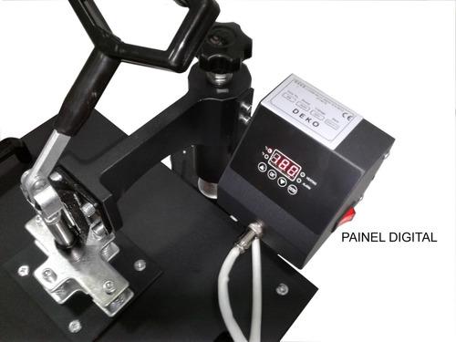 prensa termica 10em1 deko 220volt + imp multifuncional l3110